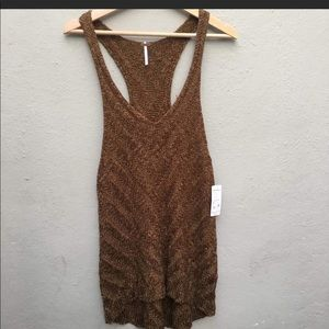NWT FREE PEOPLE KNIT TANK TOP SMALL